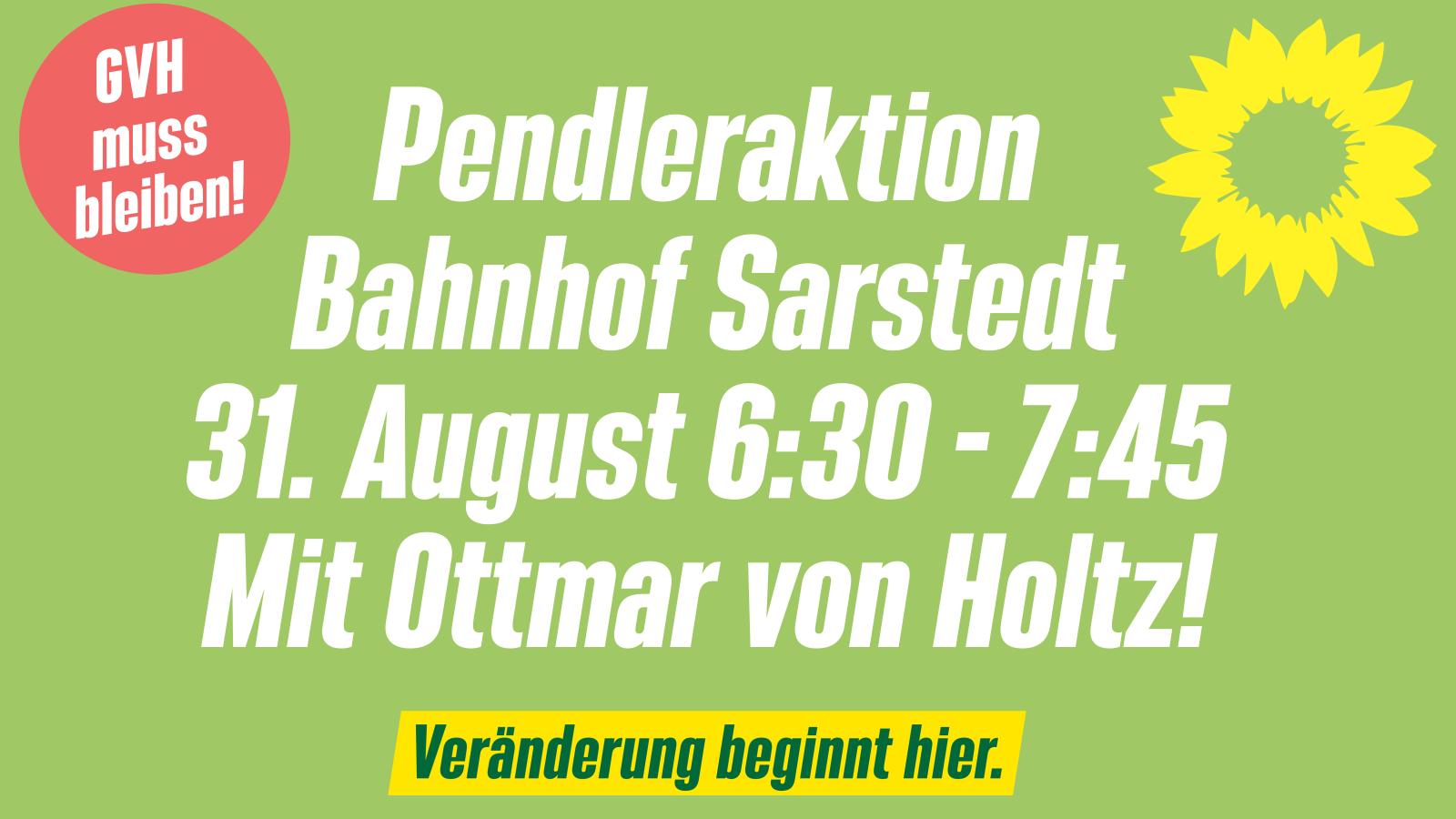 Pendleraktion mit Ottmar von Holtz!